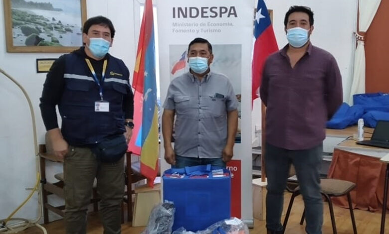 Photo of Recolectores de orilla reciben ropa de trabajo