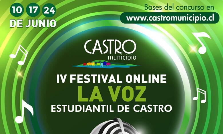 Photo of En junio se realizará una nueva versión del Festival de la Voz Estudiantil de Castro