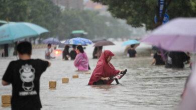 Photo of En tres días llovió el equivalente a un año en la región china de Henan